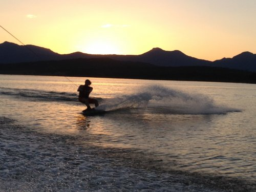 Water Sports on Lake Moogerah